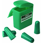 Msa Safety Works 818074 Foam Ear Plugs With Carrying Case, 2-pair