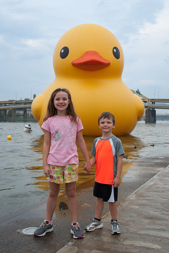 With the Big Duck