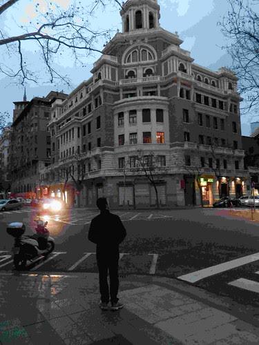 Mirando el building by JoseAngelGarciaLanda