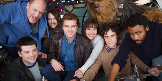 The new Han Solo film is done filming, and it has a name