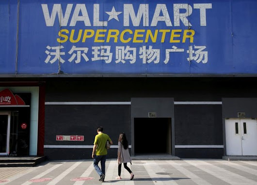 Wal-Mart to sell China online unit to JD.com for a 5 percent stake