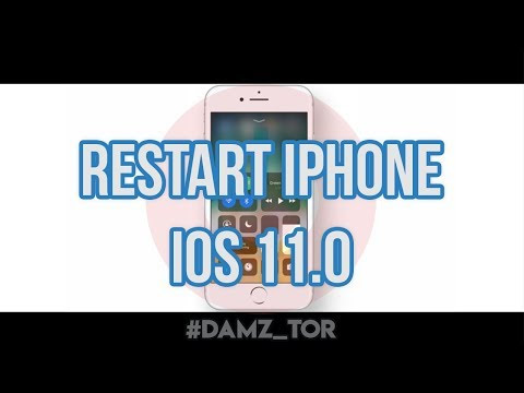 Cara restart Iphone IOS 11.0 - D.A.M.Z!