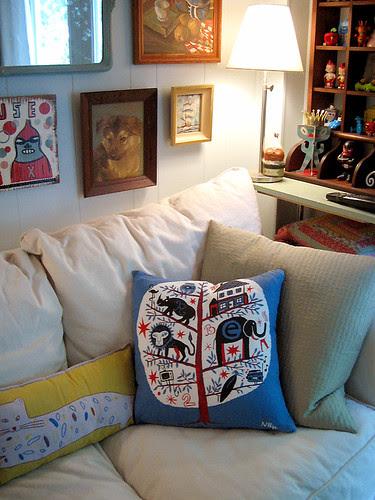 Nate Williams Pillow