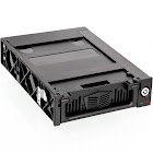 Aleratec SATA 3.5-inch Hard Drive Mobile Rack for 5.25-inch Bay with Fan 510103