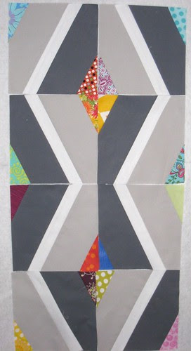Wavey Prism blocks ~ December {Faith} do.Good Stitches Quilt