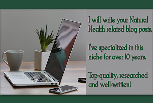 I will write a health related blog post for you