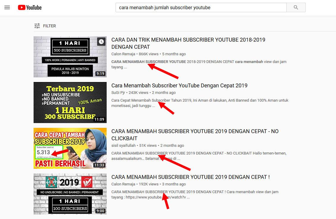 cara menambah jumlah subscriber youtube