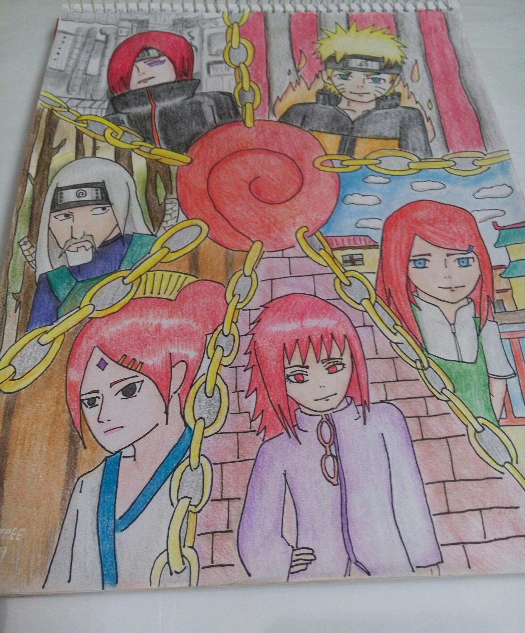 Uzumaki Clan Drawing - The Uzumaki Clan