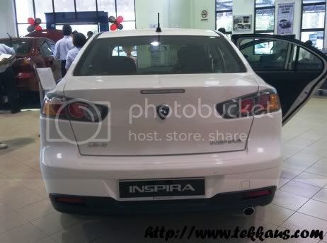 I Touched Proton Inspira At Proton Showroom,Proton Inspira,Proton Inspira Price