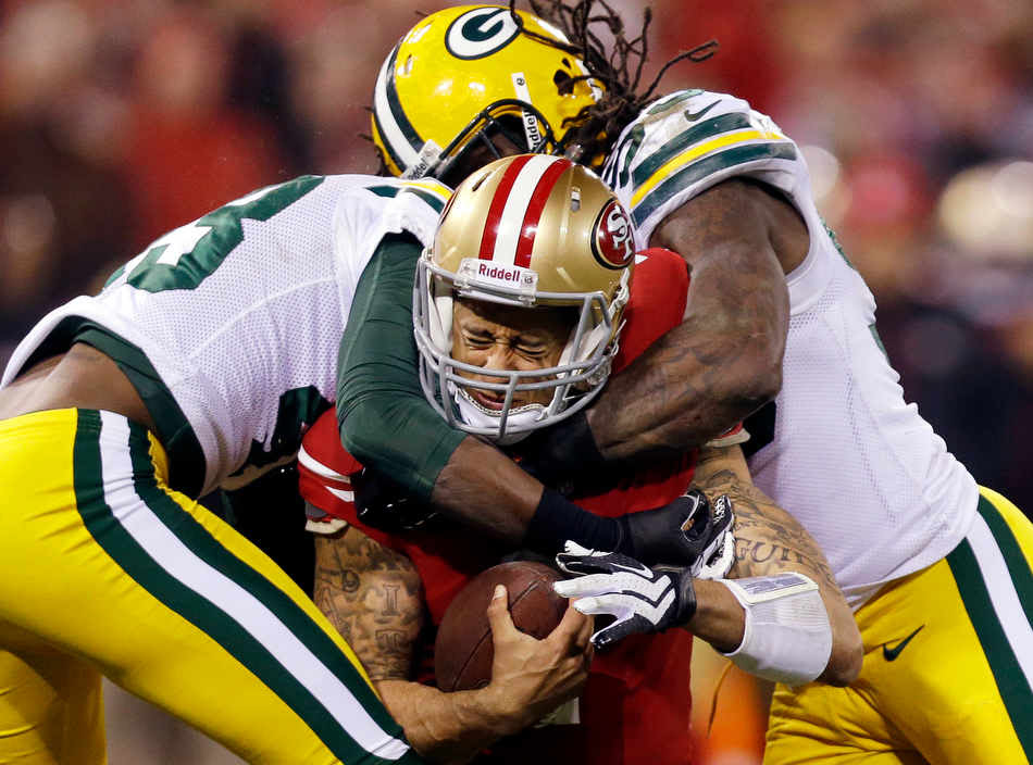 Top photos from the NFL divisional playoffs – The Eye