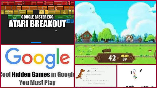 Best 5 Google Games You didn't Know About Earlier