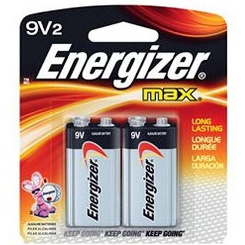 Energizer 522BP-2 Battery - 9V - Alkaline