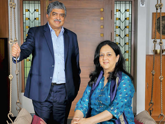 Nandan & Rohini Nilekani's 'world of good': How they are working on community-minded projects like EkStep - The Economic Times