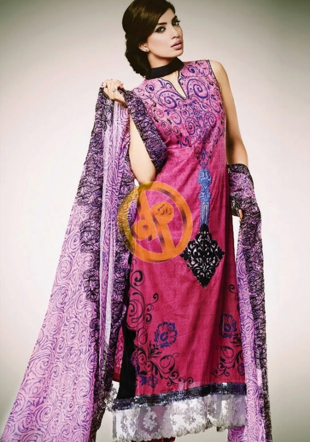 Dawood-Textile-Girls-Women-Printed-Lawn-Prints-Fashion-Suits-Kuki-Concepts-Fall-Winter-Collection 2013-14-14