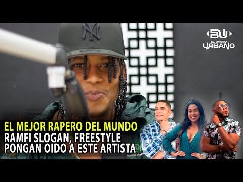 """EL MEJOR RAPERO DEL MUNDO """"RAMFI SLOGAN"""" PONGAN OIDO A ESTE ARTISTA Y SUS VIVENCIAS (ENTREVISTA)"""