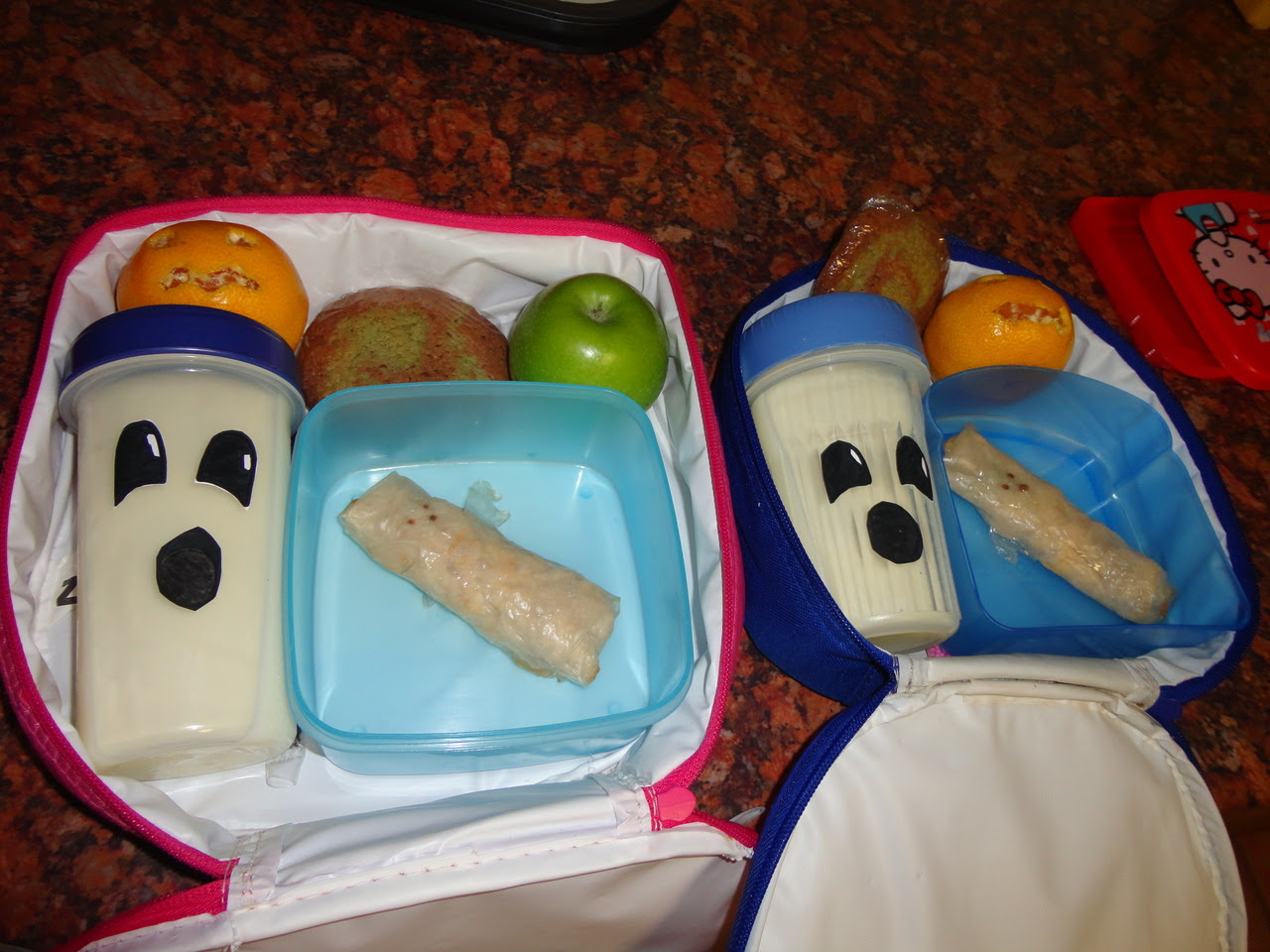 Halloween Themed Packed Lunch