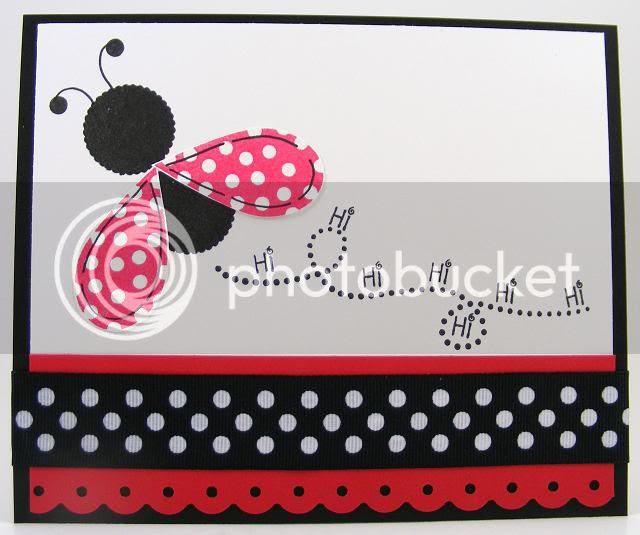 Ladybug Hi Card