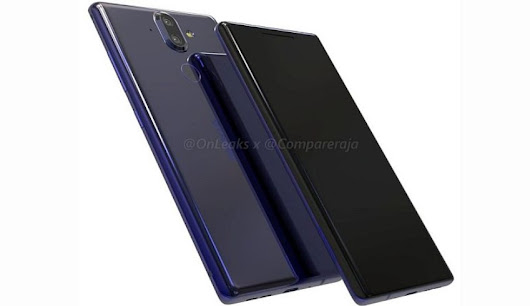 Nokia 9 Has Leaked Again, This Time With Renders And An Iris Scanner - Getting Geek