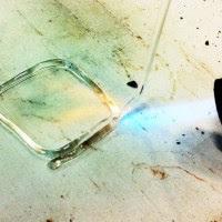 molten glass
