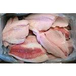 Frozen Seafood Tilapia - 3 to 5 Ounce, 10 Pound - 1 each.
