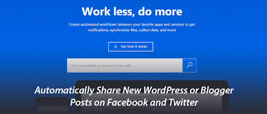 Automatically Share New WordPress or Blogger Posts on Facebook & Twitter | RJDesignz