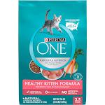 Purina One SmartBlend Cat Food, Premium, Healthy Kitten Formula, Kitten - 56 oz