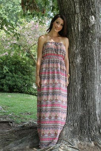 Image of Mimi Maxi Dress for Women sewing pattern