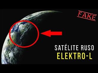 Supuestas Imágenes Reales del Planeta Tierra Captadas por un Satélite Ruso