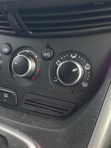 Ford Escape dashboard