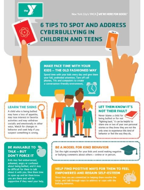 YMCANYC 6 Tips to Deal with Cyberbullying for Kids & Teens
