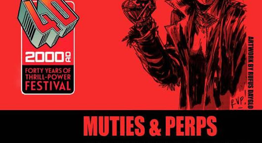 "Art Model Collective and 2000AD team up up for unique ""Muties & Perps"" life drawing event in London"