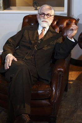Sigmund Freud - Museo Madame Tussauds de Berlín, Alemania
