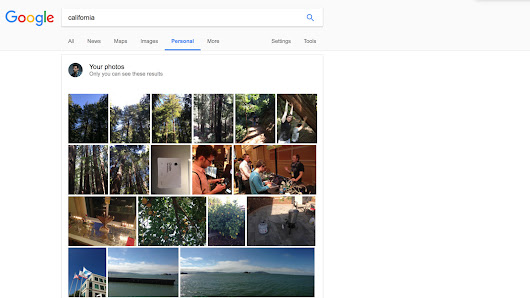 Google adds new Personal tab to search results to show Gmail and Photos content