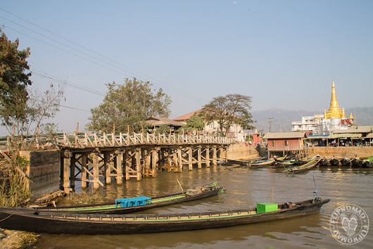 Nyaung Shwe - Gateway to Inle lake