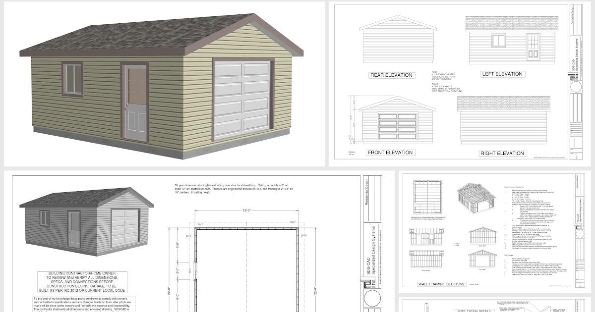 Complete 24x32 Barn Plans Best Design