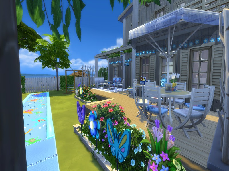 Monraelis12's The Sims 4 Vacation House