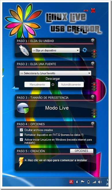 LiLi USB Creator (Linux Live)