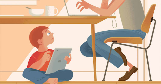 How to Cut Children's Screen Time? Say No to Yourself First.