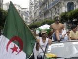 supporter fete rue Algérie  Coupe du Monde 2014