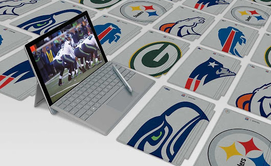 Enter Microsoft's NFL Surface Cover contest to win great NFL prizes