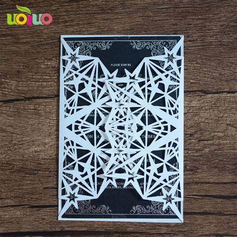 Aliexpress.com : Buy INC57 HOT Stars design wedding cards