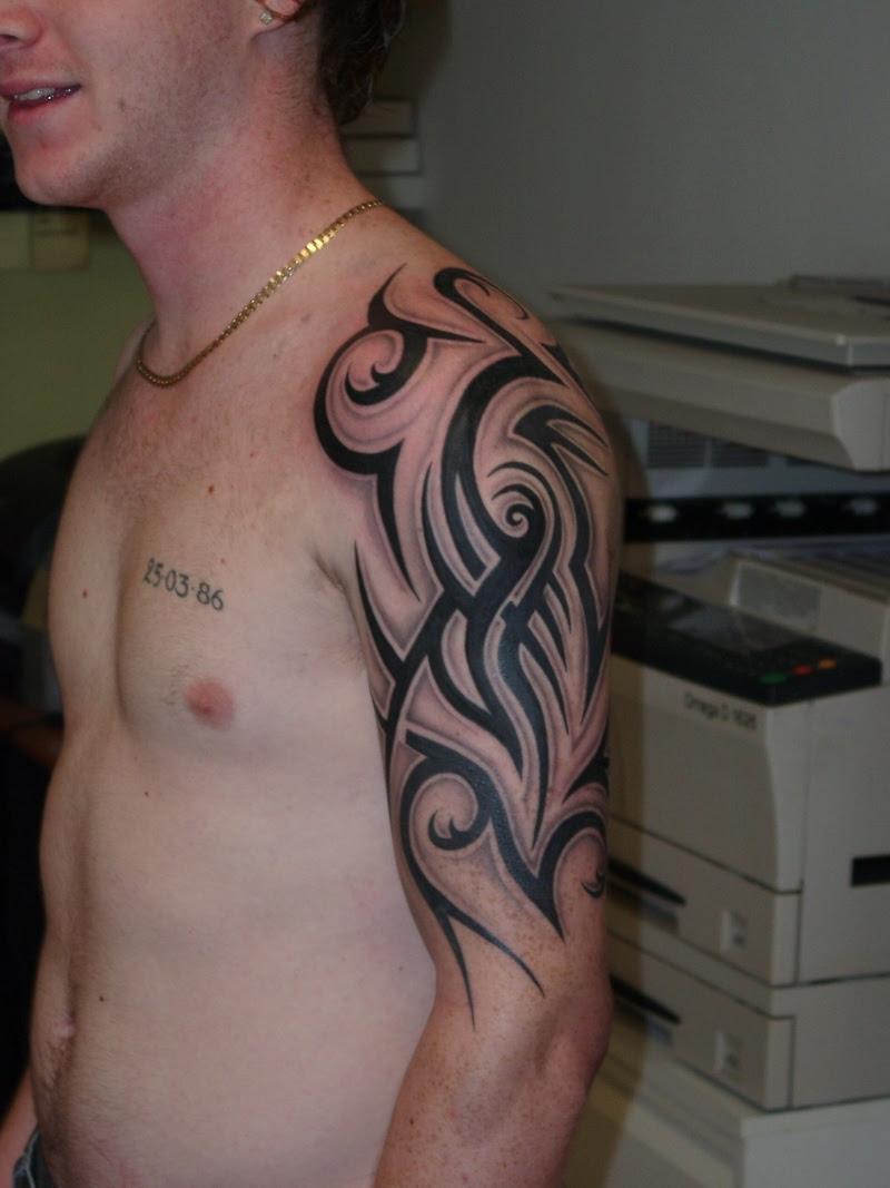 20 Beautiful Tribal Sleeve Tattoos