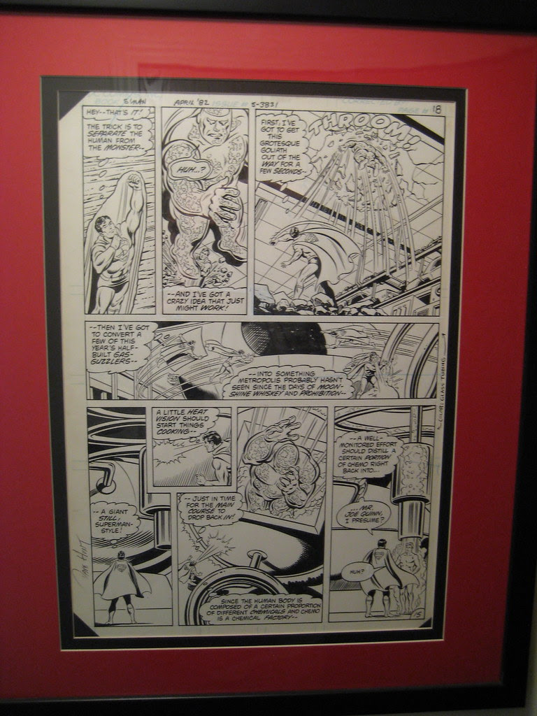 Curt Swan Superman Original Art