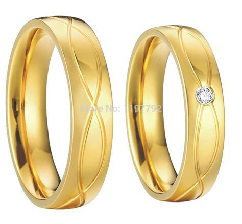 Izyaschnye wedding rings: Wedding ring 18k gold