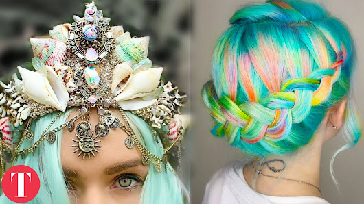 10 MERMAID Inspired Beauty and Fashion Products - YouTube
