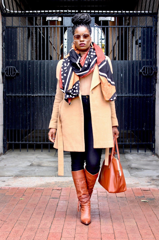 Take Your Winter Wardrobe From Drab To Fab With A Graphic Print Scarf