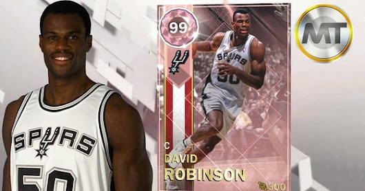 Is The David Robinson Pink Diamond The Last NBA 2K18 MyTeam Center Card You'll Ever Need?