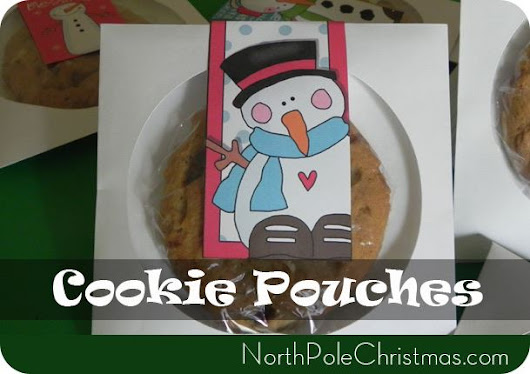 Cookie Pouches from CD Sleeves + Printable Cookie Pouches