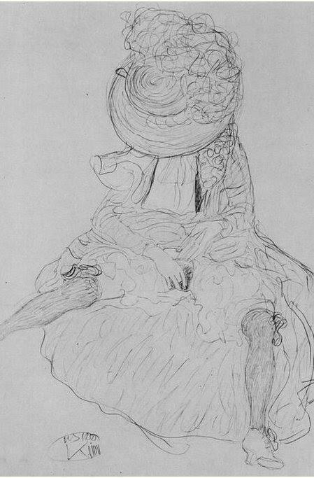 Gustav Klimt erotica sensual33