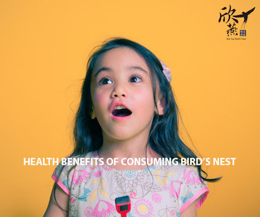 Benefits of Consuming Bird's Nest - Xin Yan Bird's Nest 欣燕